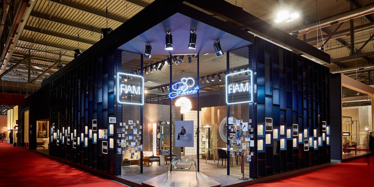 entrata stand Fiam al Salone del Mobile 2017