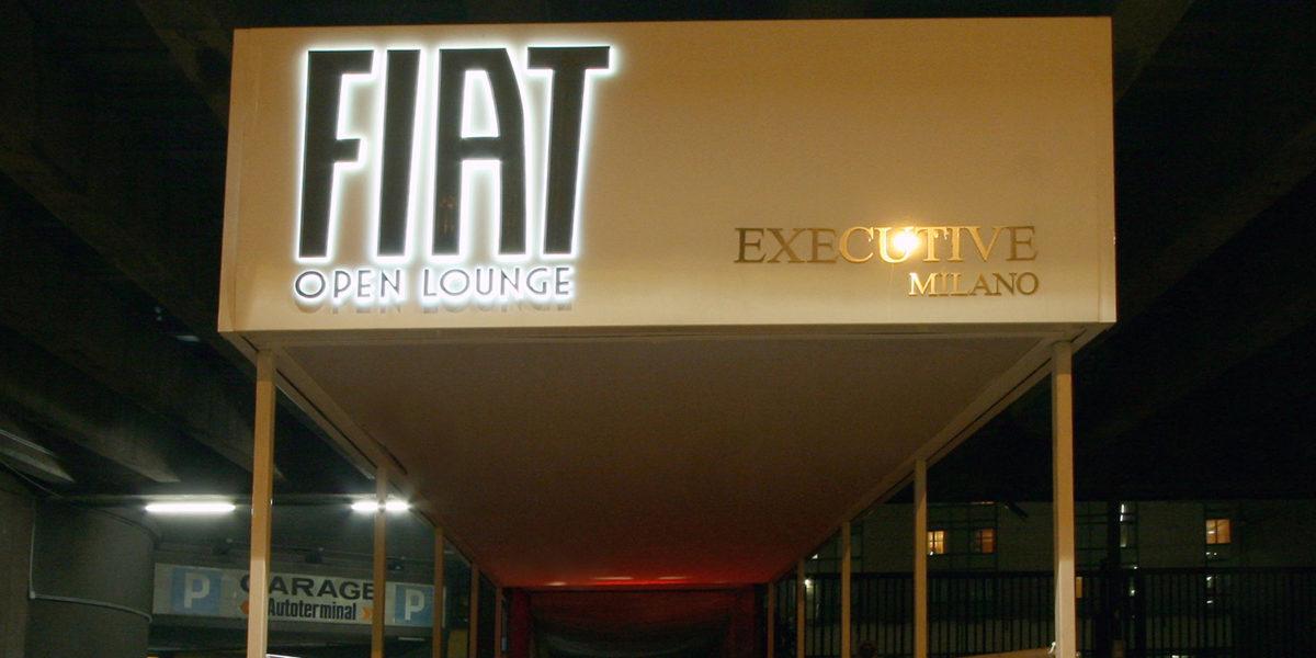 progettazione ingresso Fiat Lounge