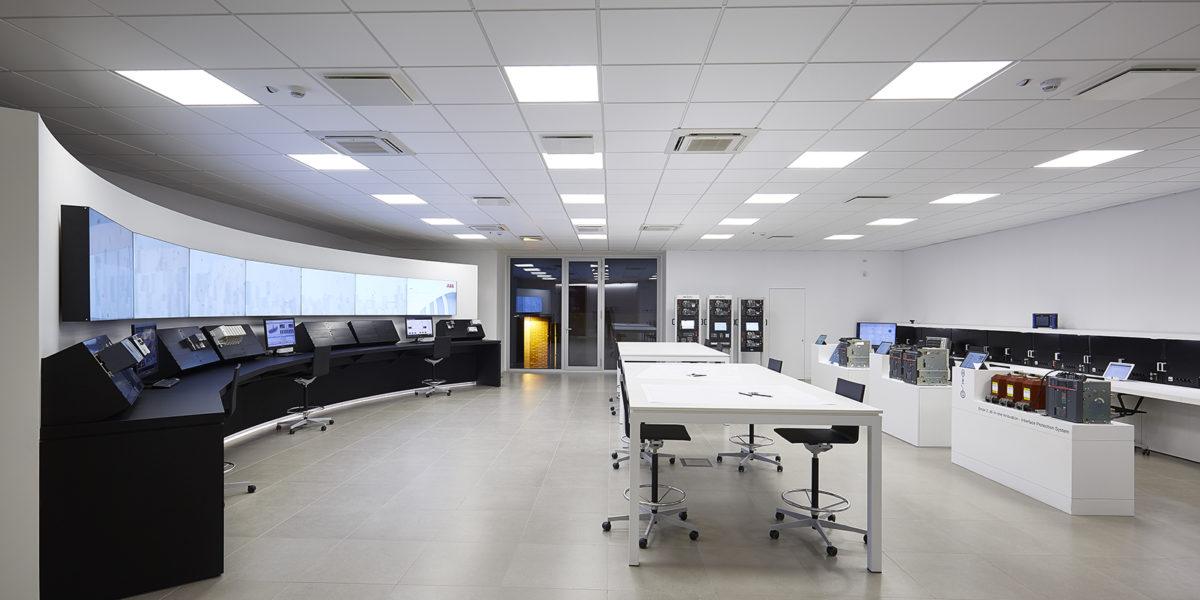 progettazione degli spazi e uffici di ABB