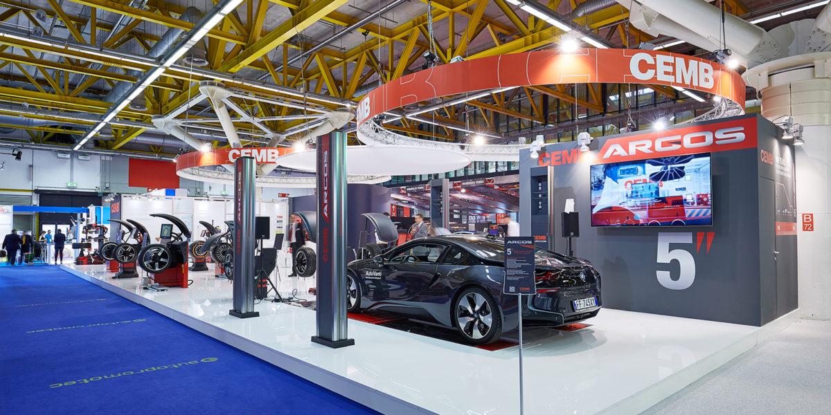 Stand innovativo di Cemb per Autopromotec di Bologna 2017