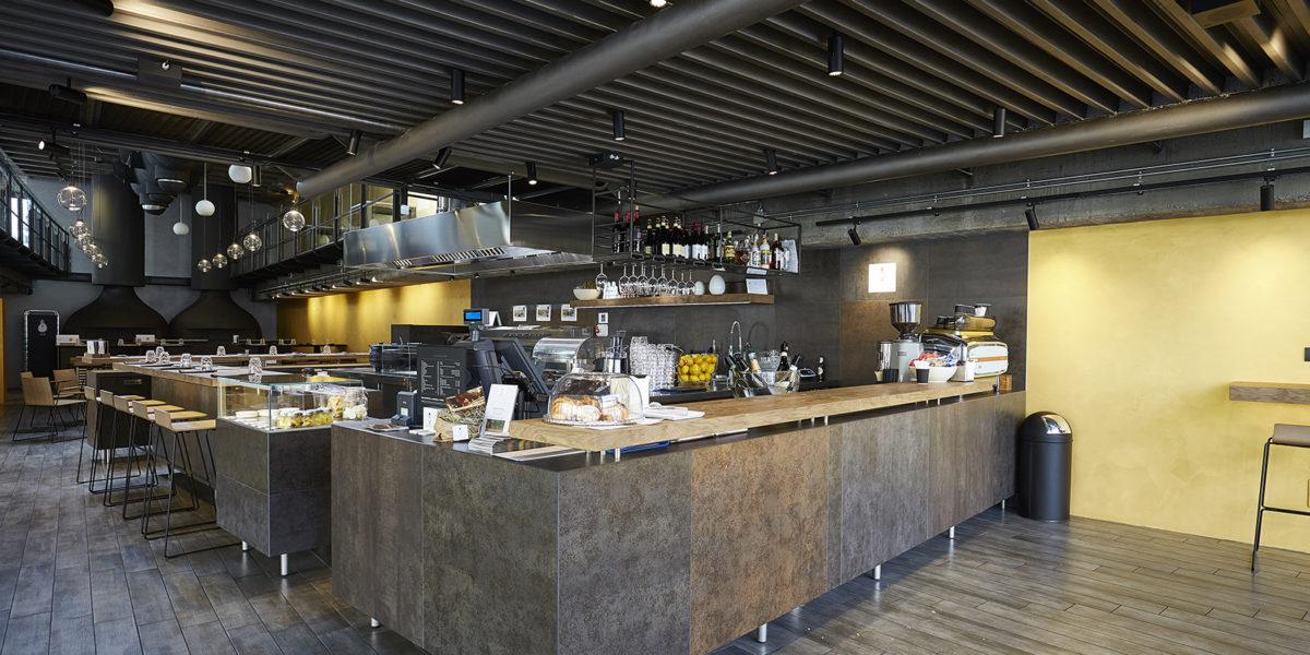 arredamento ristorante Ciareghino a Bergamo
