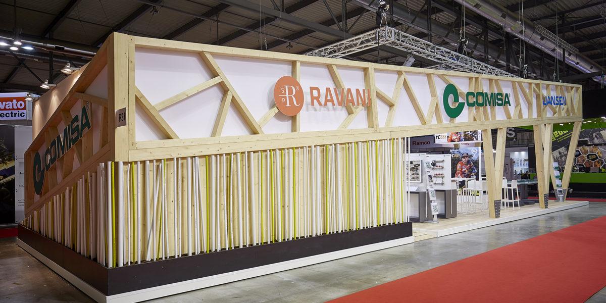 esterno stand Comisa al MCE di Milano 2018