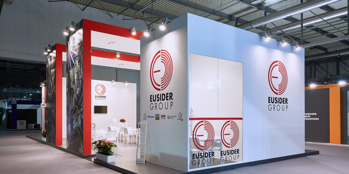 stand Eurosider per la fiera Made in steel 2017