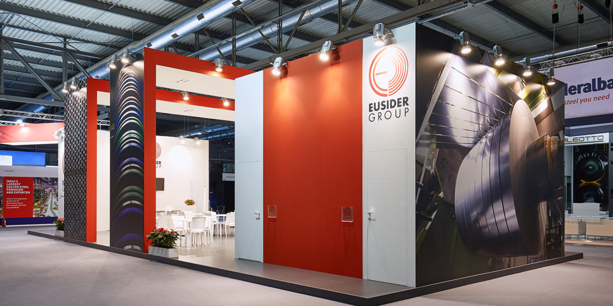 stand per Eurosider Group a Made in steel 2017