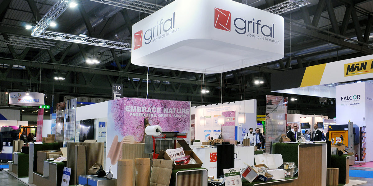 stand Grifal per Ipackima Milano 2018