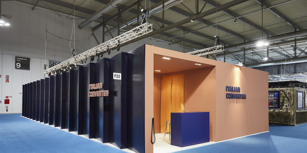 ingresso stand Italian Converter a Linea Pelle Milano 2018