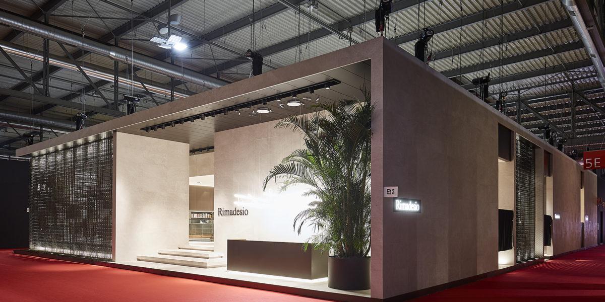 stand Rimadesio Salone del mobile Milano
