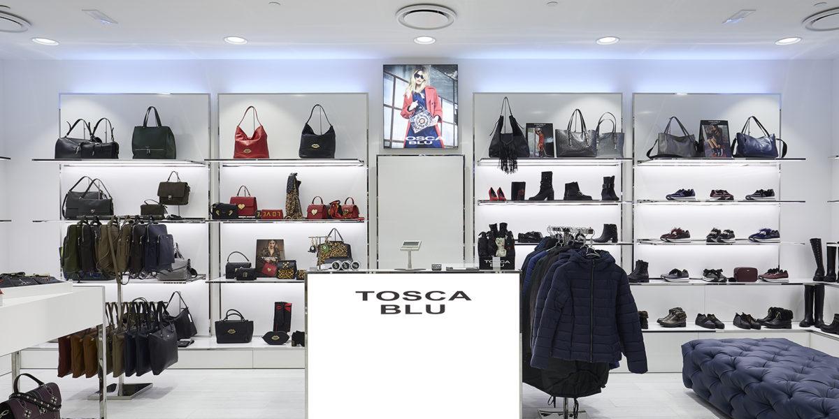 arredamento di design negozio Tosca Blu