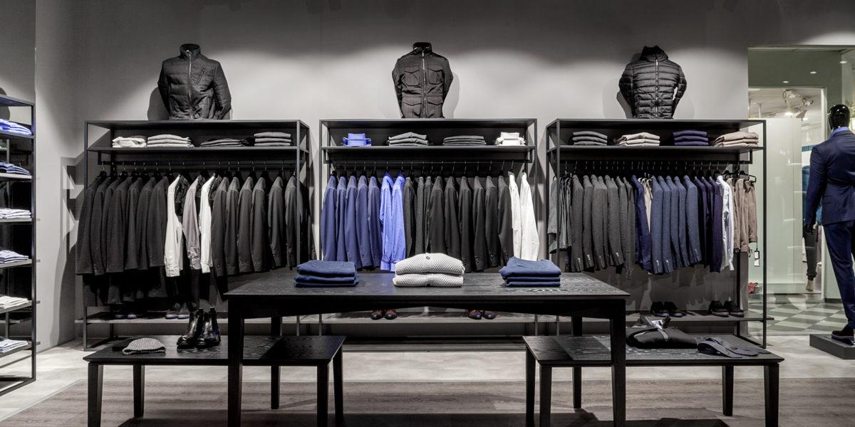 shop fitting Verri a Lugano