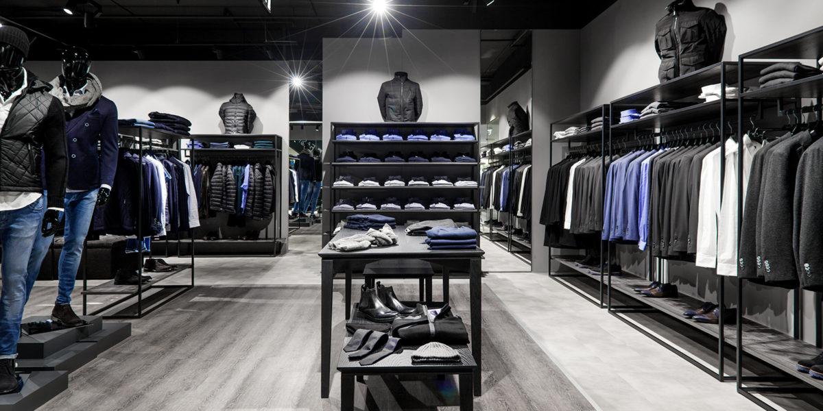 Verri interior design negozio a Lugano