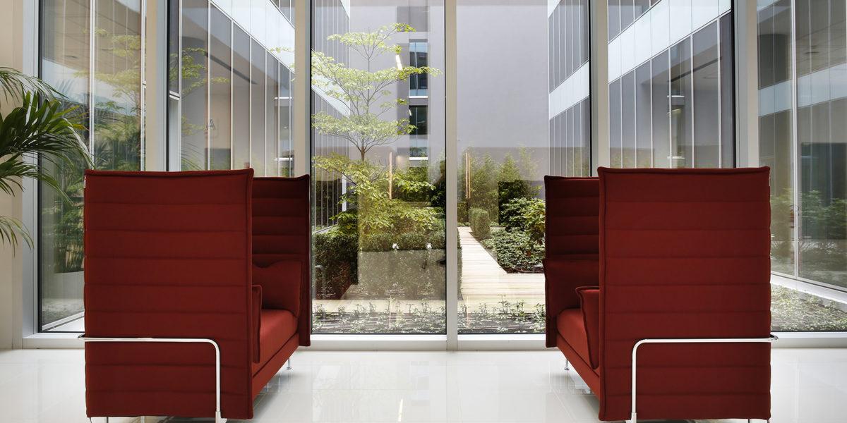 arredamento uffici di ABB a Bergamo