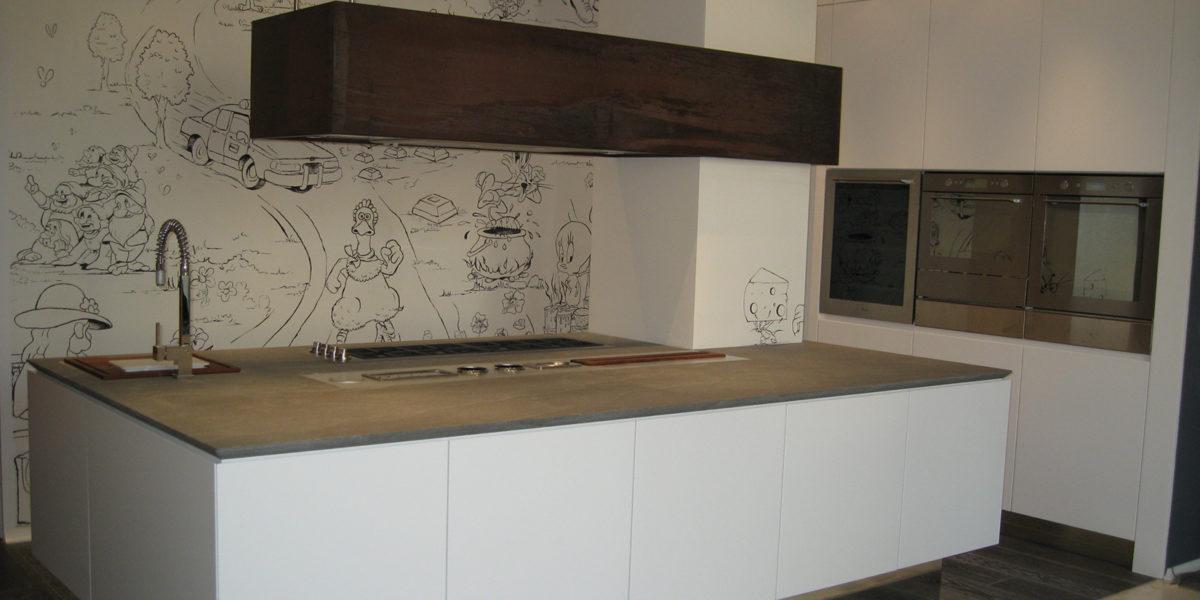 cucina su misura per appartamento in Bergamo