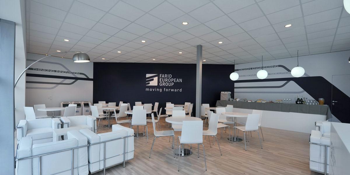 interno stand Farid per IFAT Monaco 2018