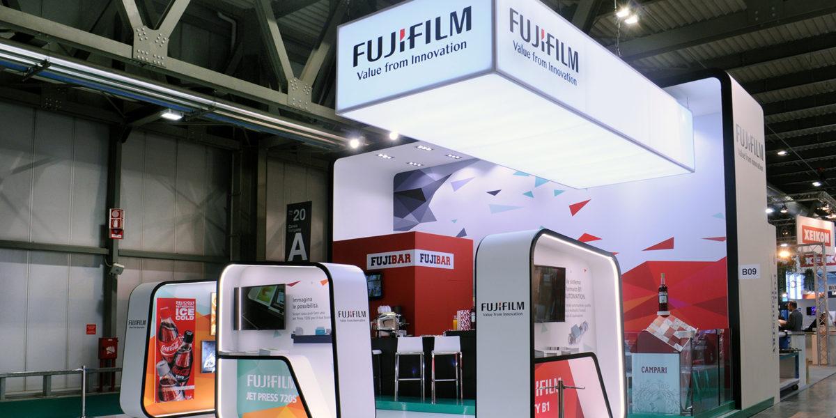 Fuji Film stand a PRINT4ALL 2018