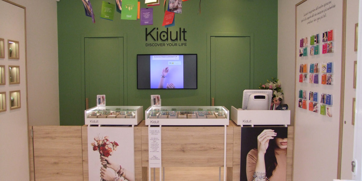 interno negozio Kidult